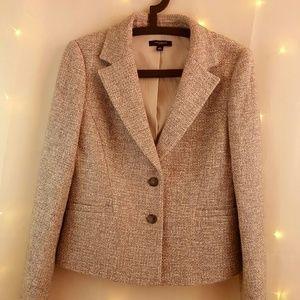 Ann taylor wool blend blazer.